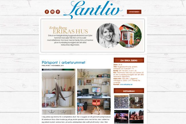Blogg Lantliv