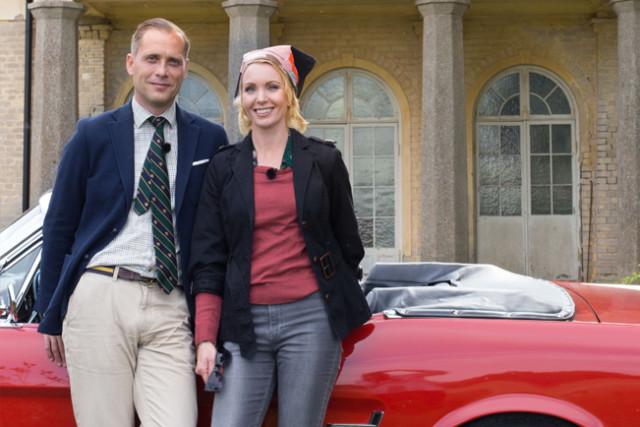 Christopher O´Regan och Erika Åberg